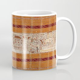 Tapis Lampong South Sumatra Indonesian Wrap for Woman Print Coffee Mug
