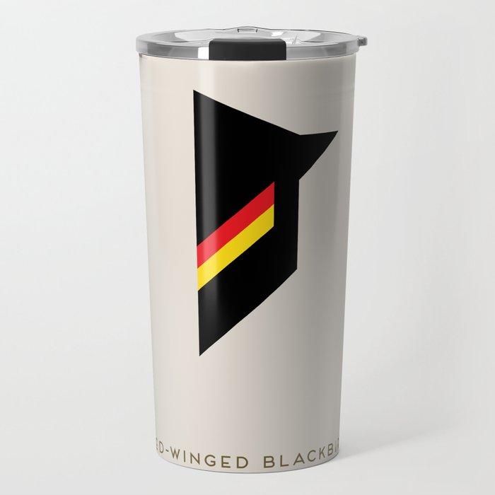 Red-Winged Blackbird Travel Mug