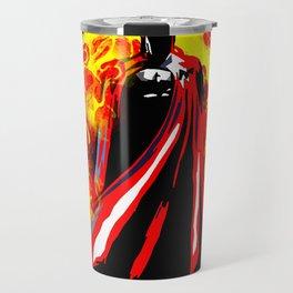 Bat on Fire Travel Mug