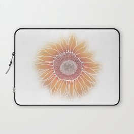 Mother Nature's Genius - White Outline Laptop Sleeve
