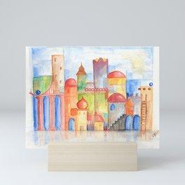 Water City Mini Art Print