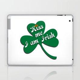 Kiss me I am Irish Laptop & iPad Skin