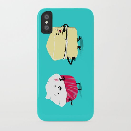 Red PERVERT Cupcake iPhone Case