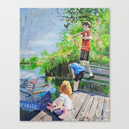 Broomfield days Canvas Print