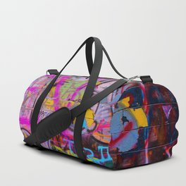 Bright Graffiti Duffle Bag