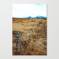 Icelandic View Canvas Print