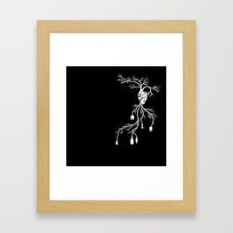 Looking for Collection - Heart Framed Art Print