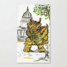 Lion Dance  Canvas Print