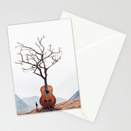 Guitar Tree Stationery Cards