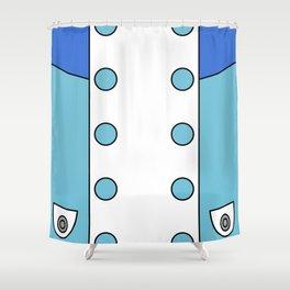 Eureka Seven Dress Shower Curtain