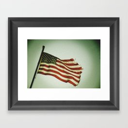 My Country Framed Art Print