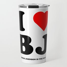 I love Boris Johnson Travel Mug