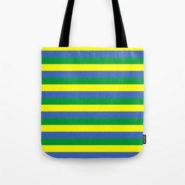 gabon flag stripes Tote Bag