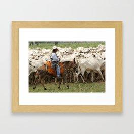 Lides de campear Framed Art Print