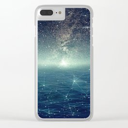 ...The Stars, Look How They Shine For You Clear iPhone Case