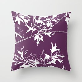 Fall Branches Throw Pillow
