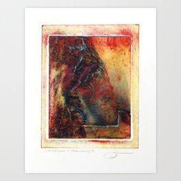 Monoprint by Dennis P Jordan, Untitled Art Print
