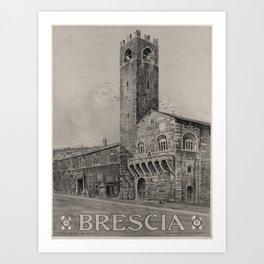 Affiche ENIT Brescia Art Print