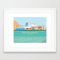 Framed Art Prints featuring The Life Aquatic by Alan Segama