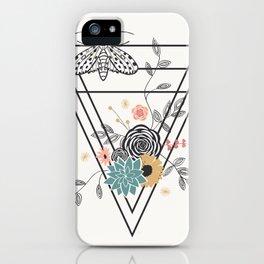 Geometric Nature iPhone Case