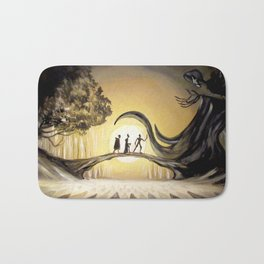 The Tale of the Three Brothers Bath Mat