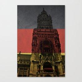 Glockenspiel with Flag Canvas Print