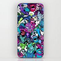 flash iPhone & iPod Skins featuring Flash! by Vanessa Teodoro