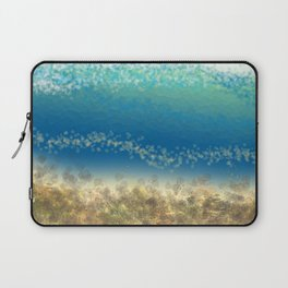 Abstract Seascape 04 wc Laptop Sleeve