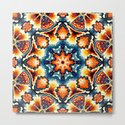 Colorful Concentric Motif by perkinsdesigns