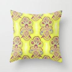 Afternoon Wallpaper Throw Pillow