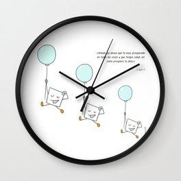 Mis mejores deseos para ti. Wall Clock