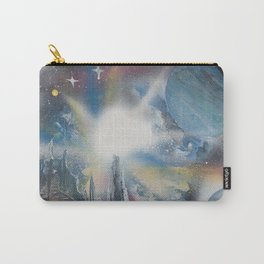Citadel Spacescape - Spray Paint Art Carry-All Pouch