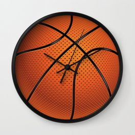 Basketball Ball Wall Clock