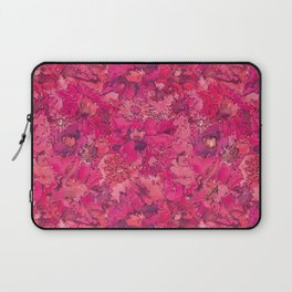 Watercolour Daisies Pink Amanya Design Laptop Sleeve