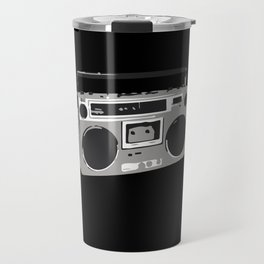 Dark Side of the Boombox Travel Mug