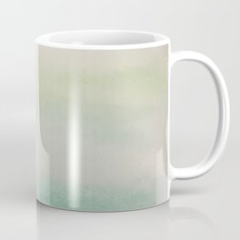 Ombre Mint Green Watercolor Hand-Painted Effect Coffee Mug