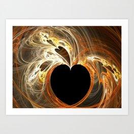 Heartland fractal Art Print