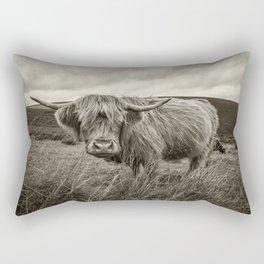 Moo Hair Rectangular Pillow