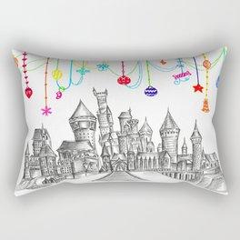 Party at Hogwarts Castle! Rectangular Pillow