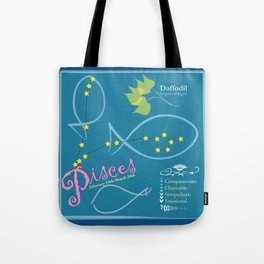 March Pisces Tote Bag