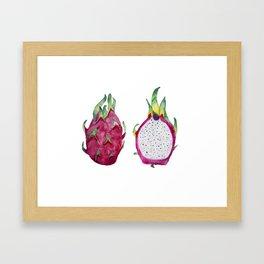 Dragon Fruit Framed Art Print