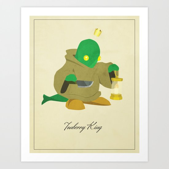 Tonberry King Art Print
