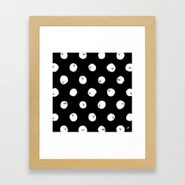 Polka dot Framed Art Print