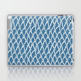 Fishing Net Blue Laptop & iPad Skin