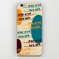 birdy iPhone & iPod Skins featuring birdy by BruxaMagica