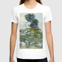 Vincent van Gogh - The Rocks (1888) T-shirt