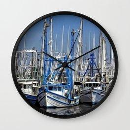 Bayou La Batre, Alabama Wall Clock