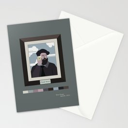 Selfie of Claude Monet Stationery Cards