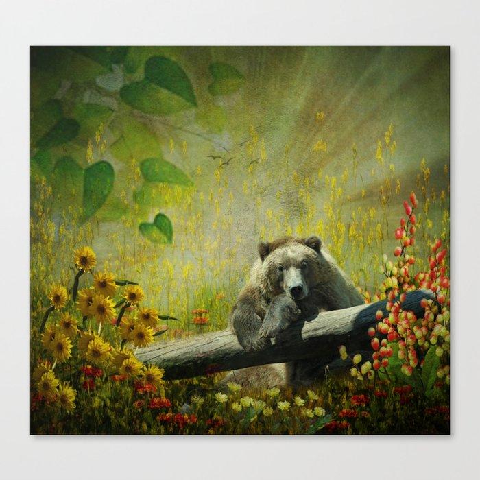 Sweet Sunshine  Canvas Print