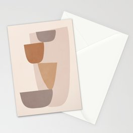 abstract minimal 25 Stationery Cards